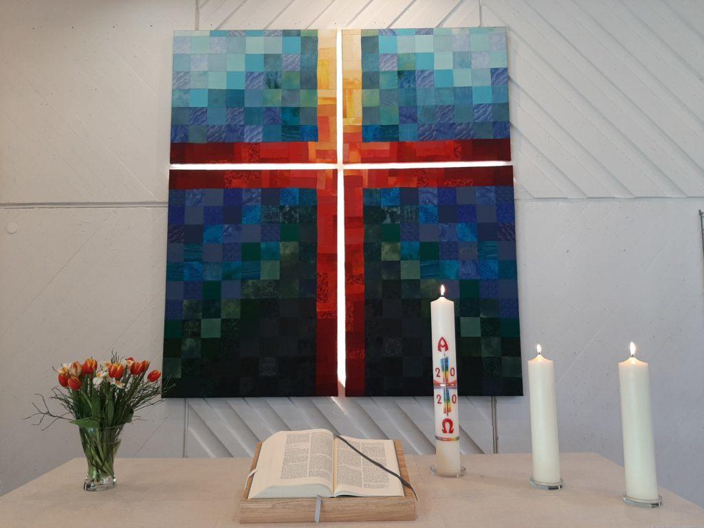 Immanuelkirche_Oster-Altar